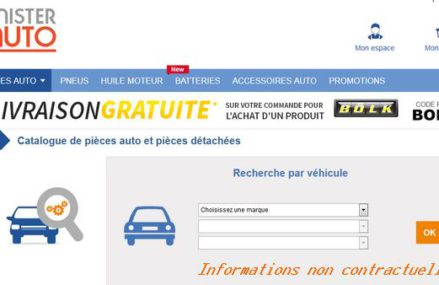 Pièces détachées auto en ligne, où les achetez-vous ?