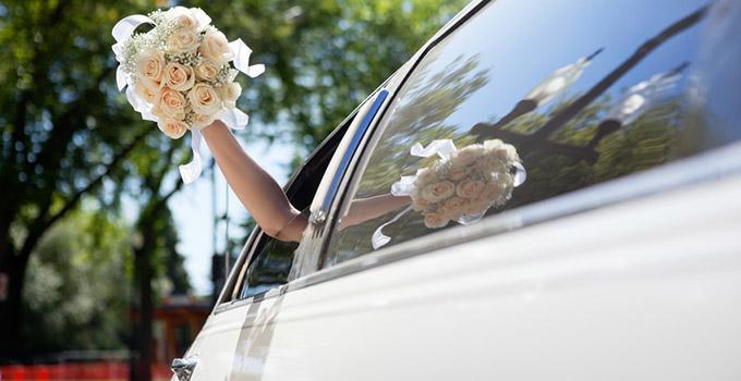 véhicule de prestige pour se marier